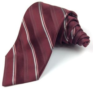 Michael Kors Red Silk Tie